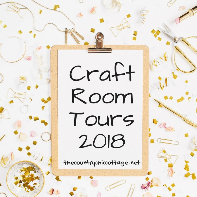 Craft Room Tours Made by Angie of The Country Chic Cottage