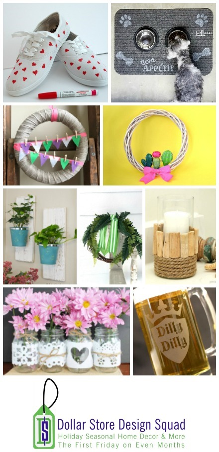 Great craft ideas from dollar store items!
