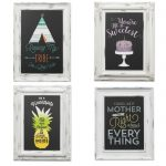 You can learn to make your own chalkboard art! This easy method is perfect for anyone -- even beginners!