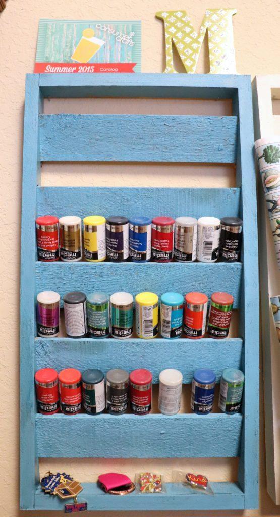 paint bottle organizer