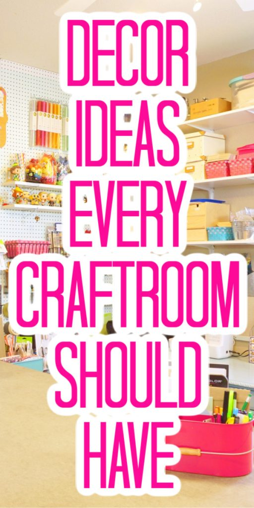 craft room decor ideas