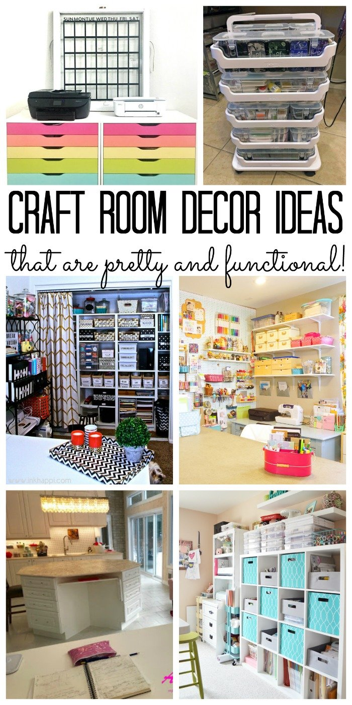 Craft Room Decor Pretty And Functional Spaces The Country Chic Cottage