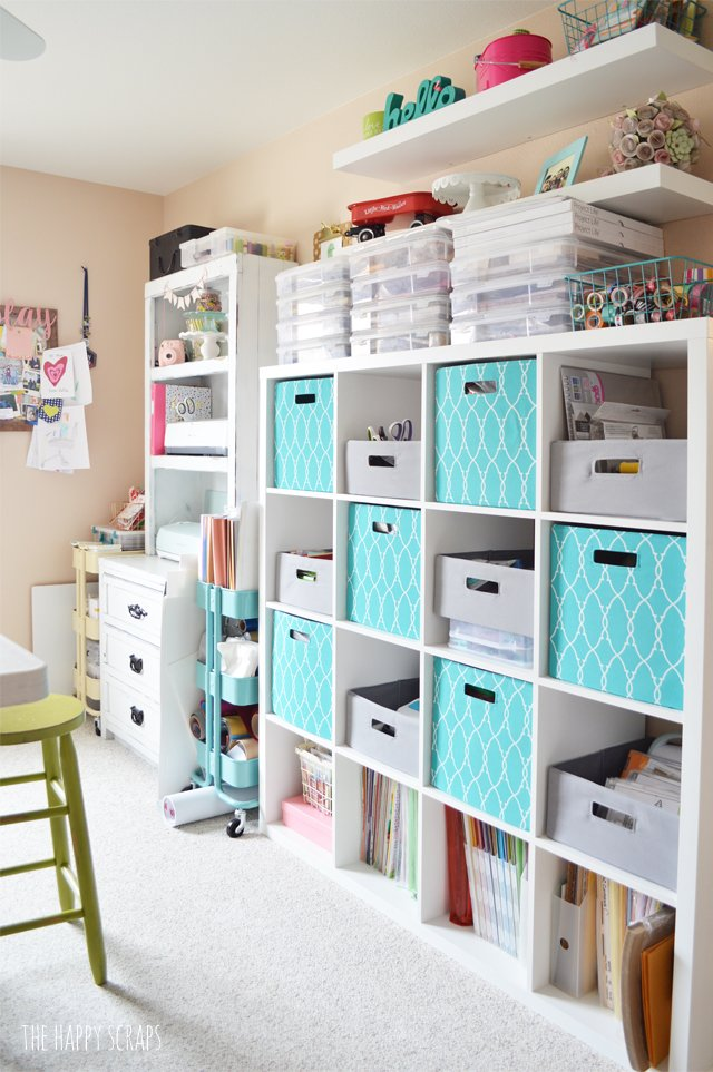 Craft room decor - ideas for a pretty and functional space you will love!