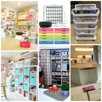 Craft Room Decor:  Pretty and Functional Spaces