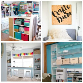 Craft Room Table Ideas and So Much More!