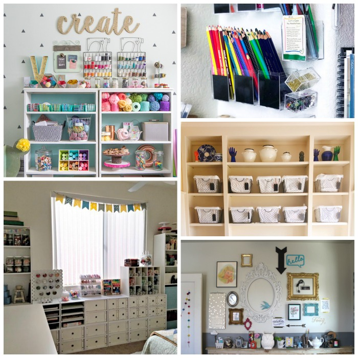 Craft Space Making The Most Of Any Area The Country Chic Cottage
