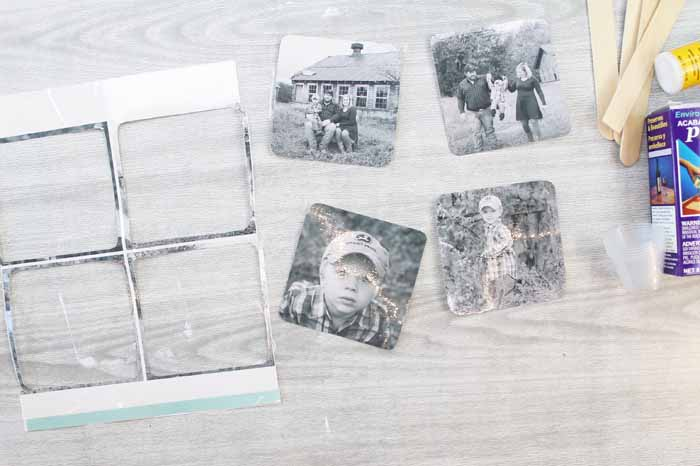 photos ready to transfer to wood