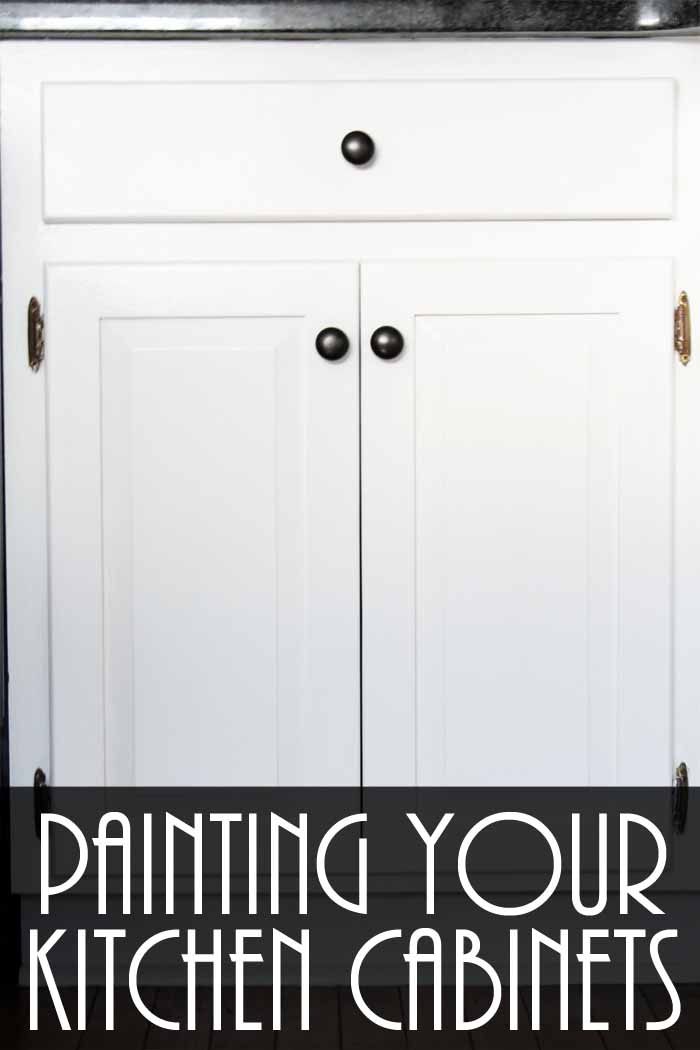 Painting kitchen cabinets a how to guide the country for Youtube painting kitchen cabinets