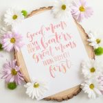Free Printable Wall Art and Mother's Day Gift Idea - love this funny mom quote and free print!
