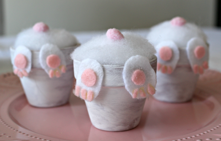 Quick and easy crafts in 15 minutes with clay pots!