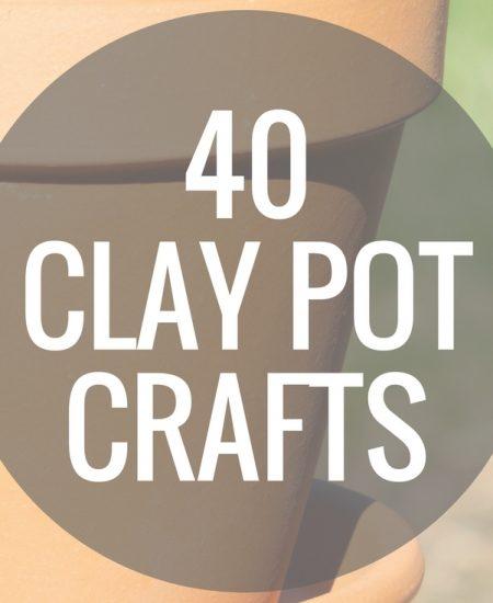 40 clay pot crafts