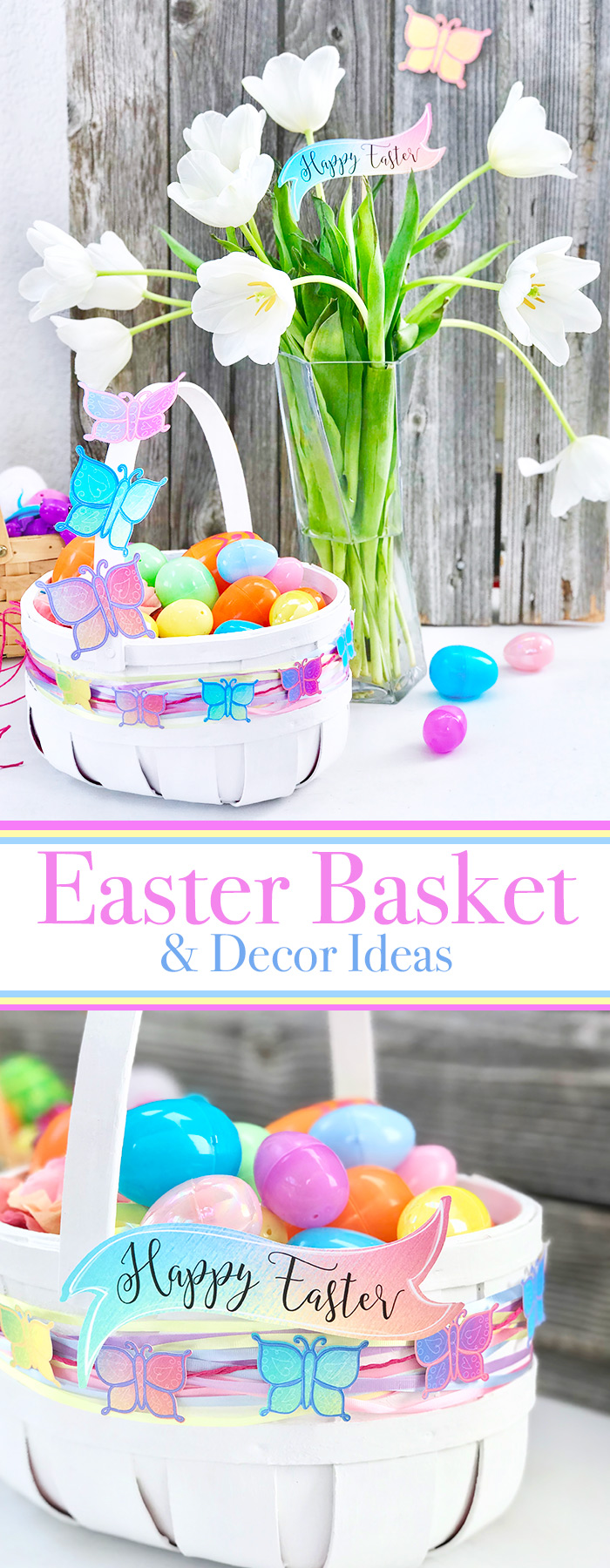 Diy easter basket and decor ideas the country chic cottage love this diy easter basket and looking for more ideas try the links below negle Choice Image