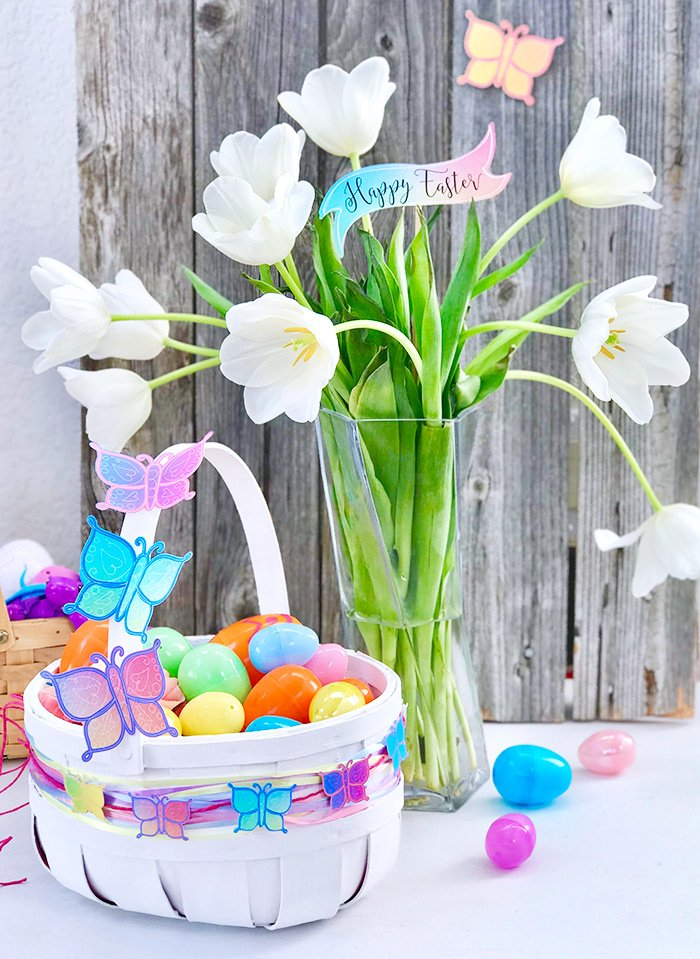 DIY Easter Basket and Decor Ideas