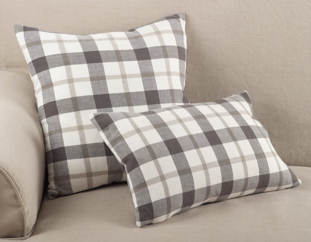 These rustic plain throw pillows are perfect for farmhouse style decor as well as Christmas or Fall!