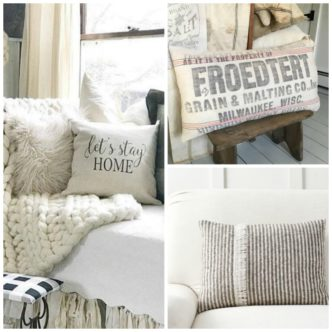 Farmhouse Pillows:  My Favorites for Your Home