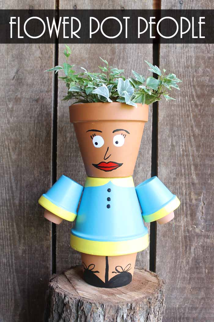 Flower Pot People Create These For Your Garden The