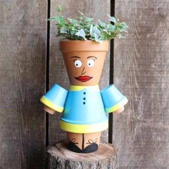 Flower Pot People:  Create These for Your Garden