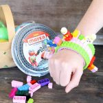 Easy DIY Lego Bracelet with Mayka Tape {with Video!}