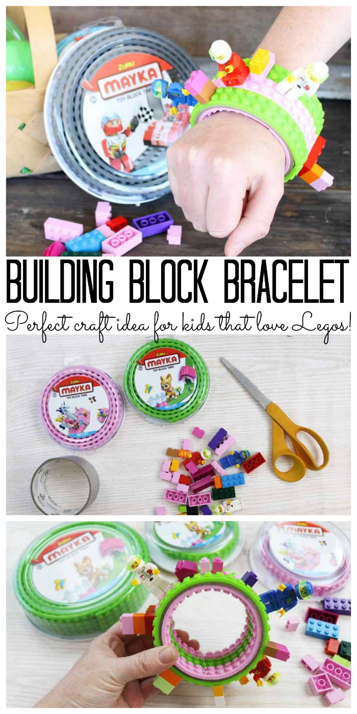 Lego Crafts Make This Building Block Bracelet The Country Chic