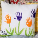 Mother's Day Ideas:  Make a Handprint Pillow