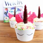 Unicorn Cupcakes:  Easy To Decorate