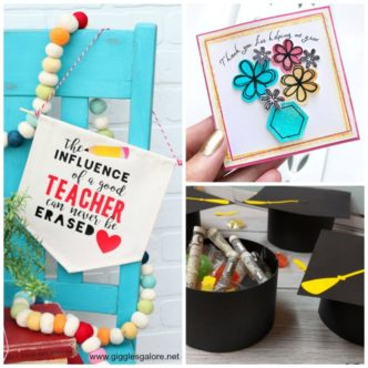 Over 50 ideas for the end of the school year that you can make with your Cricut machine!