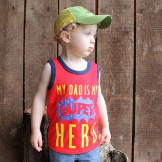 Iron On Shirt:  Three Superhero Designs for Your Cricut