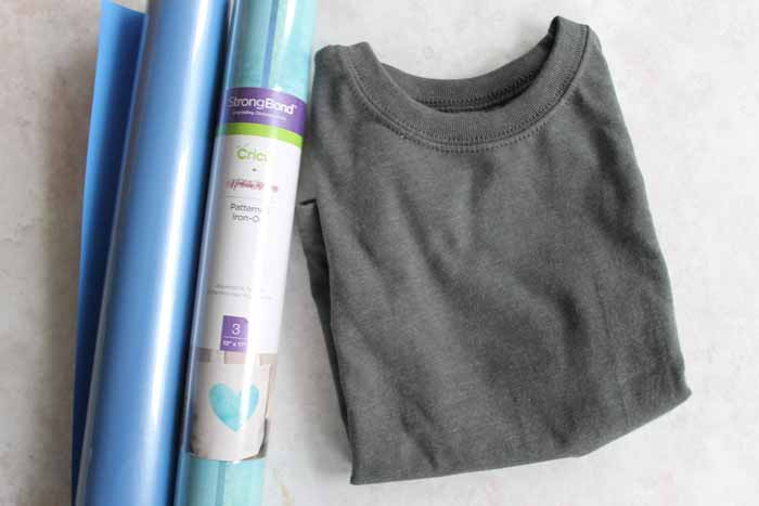 Make an iron on shirt for your toddler or child in minutes! These cute super hero shirts are so easy to make with your Cricut! Get the cut files and start on your own! #cricut #cricutmade #cricutmaker #shirt #gift #toddler #kids #superhero