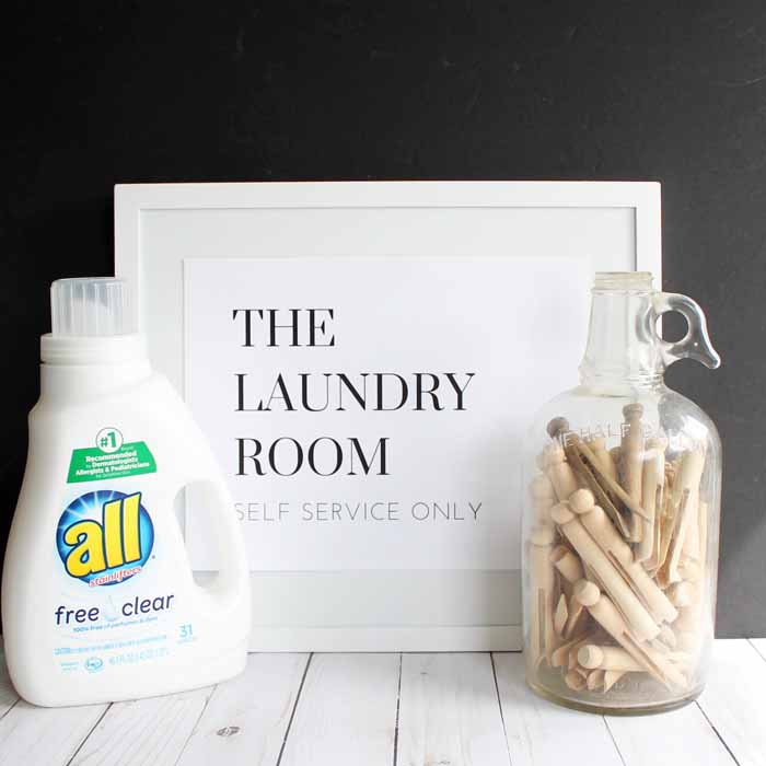 photo relating to Free Printable Laundry Room Signs named Laundry Area Signs and symptoms: Print Yours for Cost-free - The Region Stylish