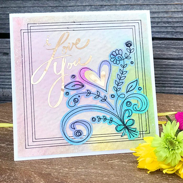 Make a Pretty Mother's Day Card with Your Cricut - The
