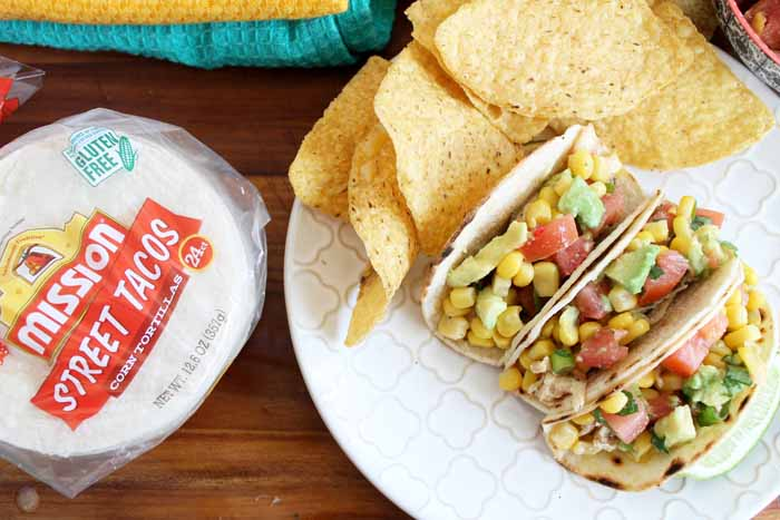 Make this sweet corn salsa recipe to celebrate Cinco de Mayo! A quick and easy recipe that is delicious served as a dip or as a topping for tacos!