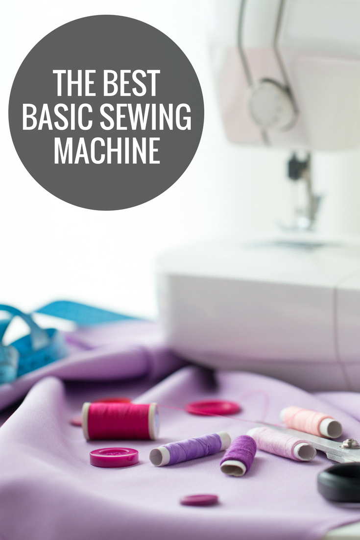 Information on the best basic sewing machine for those that are beginners or want to just sew occasionally.