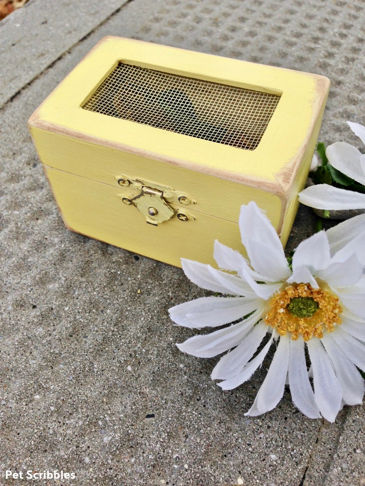 quick and easy crafts wood box wedding favor