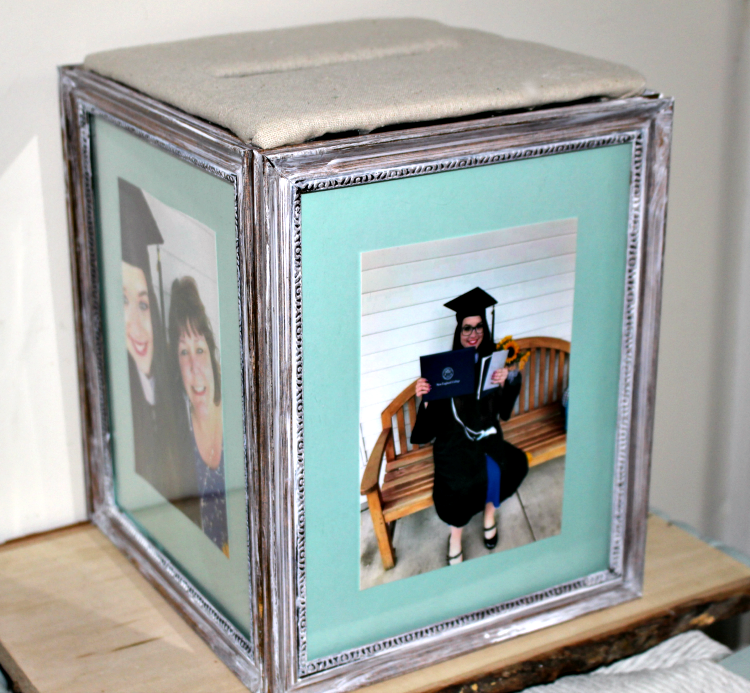 quick and easy crafts graduation card box from frames