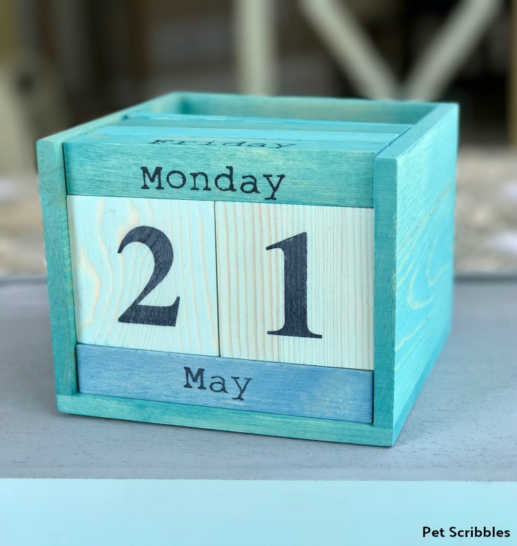 quick and easy crafts pickling wash perpetual calendar