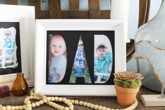 Custom Mats for Frames Using The Cricut Maker - The Country Chic Cottage