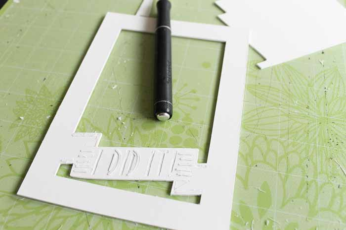 Tips and tricks for using the Cricut knife blade and cutting other thick materials with your Cricut Maker. Includes wood, mat board, chipboard, leather, and so much more!