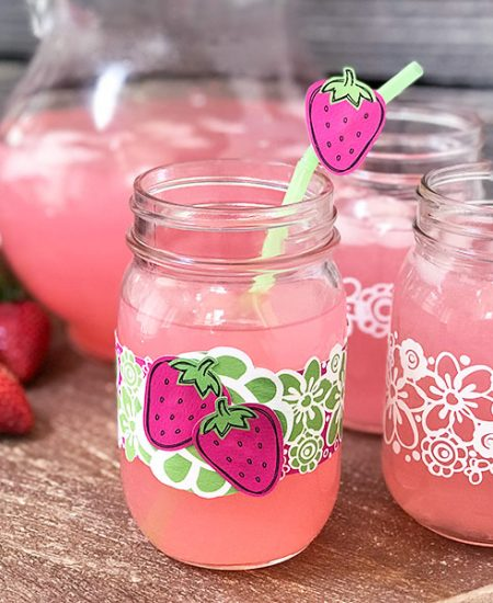 strawberry lemonade summer decor