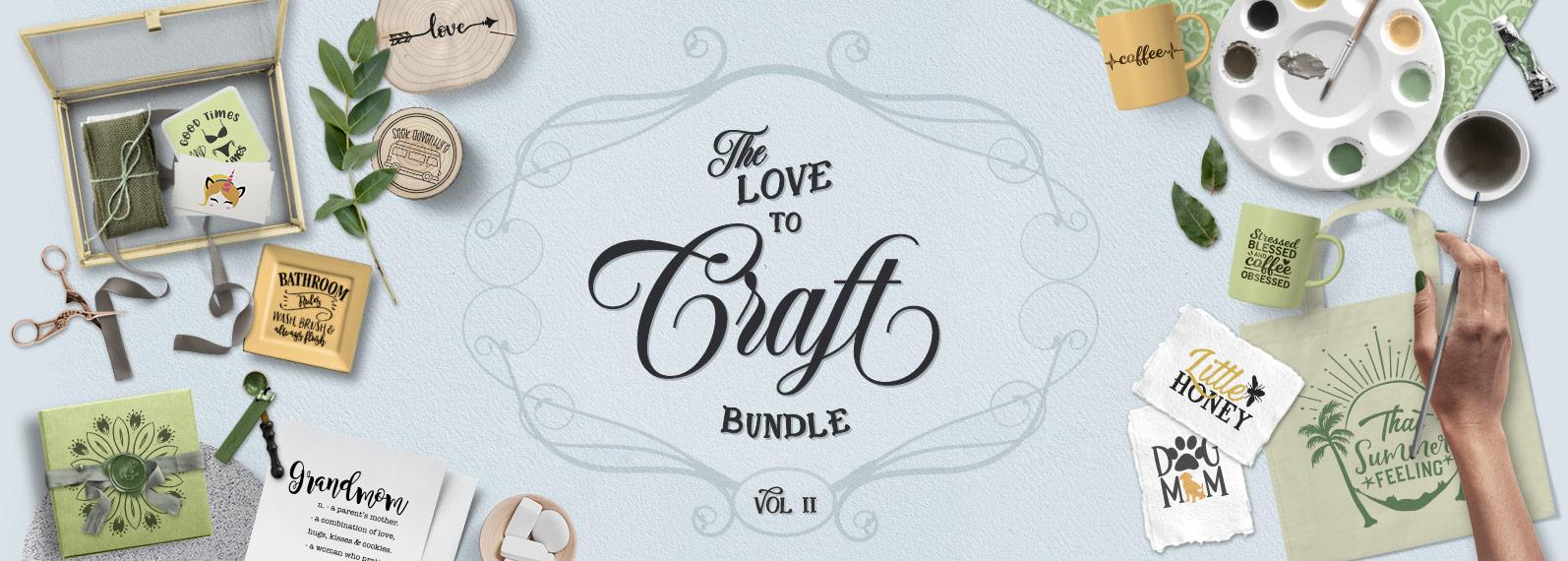 love to craft bunlde of svg files