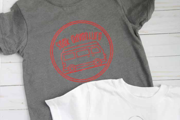 cricut camp shirts