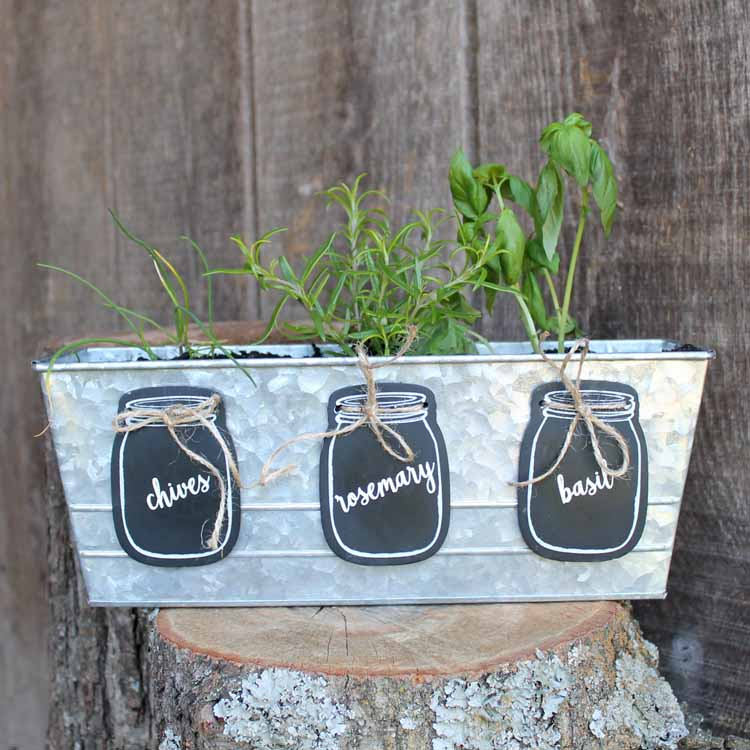 diy garden markers with a cricut machine