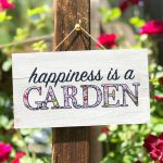 Make an Easy Mini Garden Sign