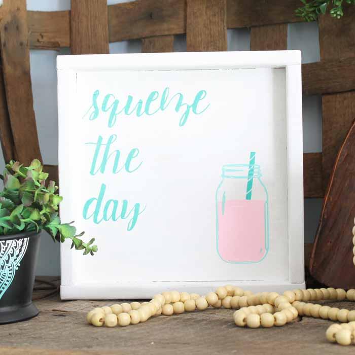 DIY mason jar art for the home