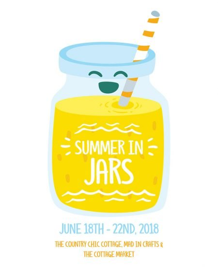summer in jars series