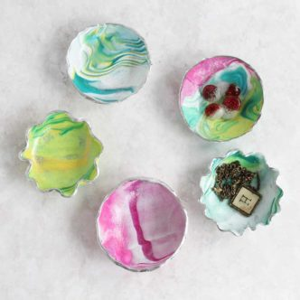 Make a Trinket Dish from Oven Bake Clay
