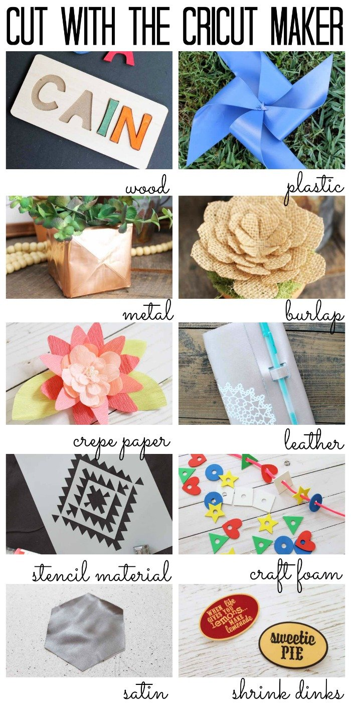 10 Things You Didn't Know The Cricut Maker Could Cut - you can cut so much with this machine!
