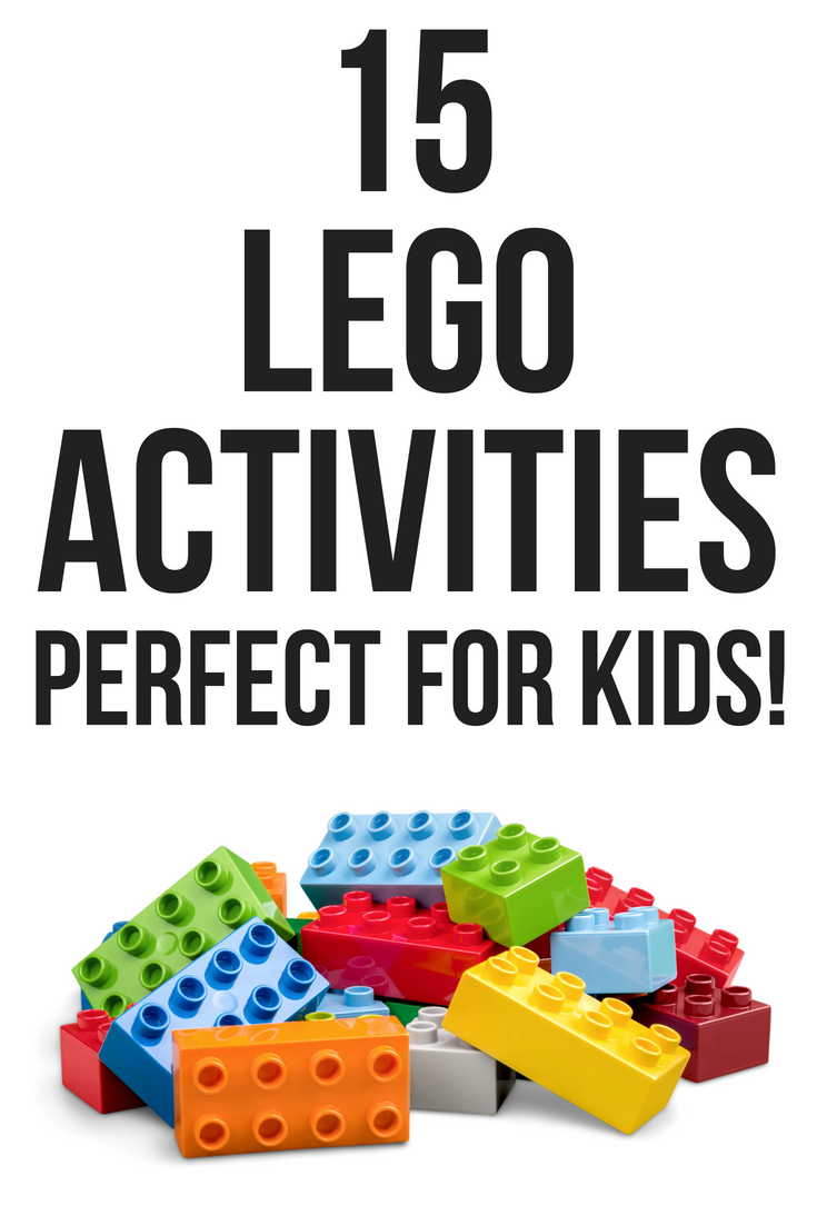 15 Lego Activities Perfect for Kids - great ideas to keep the kids interested!