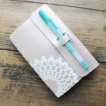 Make a DIY leather notebook with your Cricut Maker! Use the knife blade and scoring wheel like you have never used it before! Plus great deals from HSN on products to make this craft and gift idea!