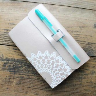DIY Leather Notebook Using the Cricut Maker and an HSN Deal