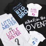 Gender Reveal Ideas for Family:  Shirt Designs